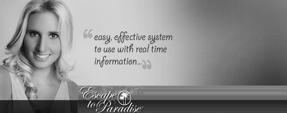 Easy, effective system to use with real time information...
